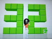 Wii Fit Plus 6月9日のバランス年齢 32歳