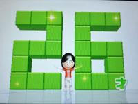 Wii Fit Plus 6月11日のバランス年齢 26歳