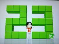 Wii Fit Plus 6月12日のバランス年齢 23歳