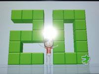 Wii Fit Plus 6月13日のバランス年齢 20歳