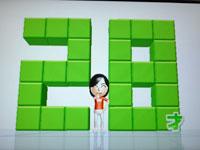 Wii Fit Plus 6月15日のバランス年齢 28歳 その2
