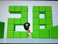 Wii Fit Plus 6月15日のバランス年齢 28歳 その1