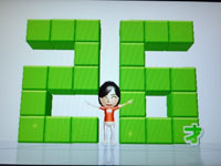 Wii Fit Plus 6月24日のバランス年齢 26歳