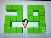 Wii Fit Plus 6月26日のバランス年齢 29歳