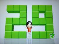 Wii Fit Plus 6月28日のバランス年齢 29歳