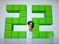 Wii Fit Plus 7月1日のバランス年齢 22歳