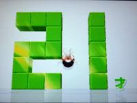 Wii Fit Plus 7月2日のバランス年齢 21歳