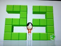 Wii Fit Plus 7月3日のバランス年齢 23歳
