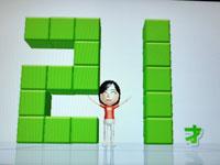 Wii Fit Plus 7月5日のバランス年齢 21歳