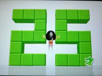 Wii Fit Plus 7月6日のバランス年齢 25歳