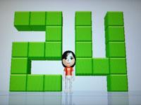 Wii Fit Plus 7月13日のバランス年齢 24歳