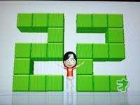 Wii Fit Plus 7月15日のバランス年齢 22歳