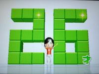 Wii Fit Plus 7月17日のバランス年齢 26歳