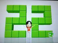 Wii Fit Plus 7月18日のバランス年齢 22歳