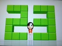 Wii Fit Plus 7月21日のバランス年齢 23歳