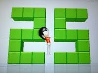 Wii Fit Plus 7月24日のバランス年齢 25歳