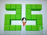 Wii Fit Plus 7月26日のバランス年齢 25歳