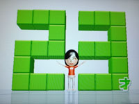 Wii Fit Plus 7月27日のバランス年齢 23歳