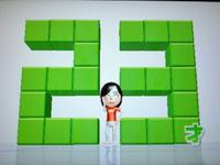 Wii Fit Plus 7月28日のバランス年齢 23歳