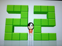 Wii Fit Plus 7月28日のバランス年齢 22歳