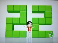 Wii Fit Plus 8月2日のバランス年齢 22歳