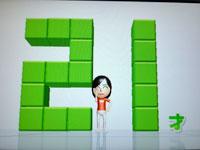 Wii Fit Plus 8月3日のバランス年齢 21歳
