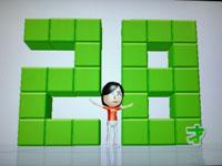 Wii Fit Plus 8月4日のバランス年齢 28歳