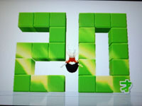 Wii Fit Plus 8月5日のバランス年齢 20歳