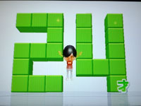 Wii Fit Plus 8月6日のバランス年齢 24歳