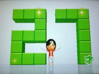 Wii Fit Plus 8月8日のバランス年齢 27歳