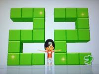 Wii Fit Plus 8月9日のバランス年齢 22歳