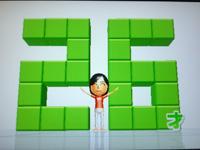 Wii Fit Plus 8月15日のバランス年齢 26歳