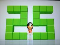 Wii Fit Plus 8月16日のバランス年齢 25歳