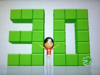 Wii Fit Plus 8月19日のバランス年齢 30歳