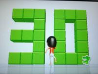 Wii Fit Plus 8月21日のバランス年齢 30歳