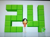 Wii Fit Plus 8月22日のバランス年齢 24歳