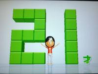 Wii Fit Plus 8月24日のバランス年齢 21歳