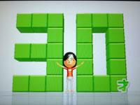 Wii Fit Plus 8月27日のバランス年齢 30歳