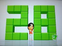 Wii Fit Plus 8月30日のバランス年齢 28歳