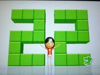 Wii Fit Plus 9月8日のバランス年齢 22歳