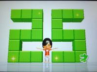 Wii Fit Plus 9月11日のバランス年齢 25歳