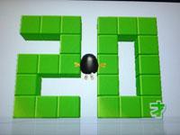 Wii Fit Plus 9月13日のバランス年齢 20歳