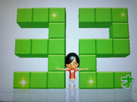 Wii Fit Plus 9月15日のバランス年齢 32歳