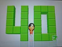 Wii Fit Plus 9月18日のバランス年齢 40歳