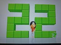 Wii Fit Plus 9月21日のバランス年齢 22歳
