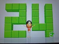 Wii Fit Plus 9月25日のバランス年齢 24歳
