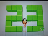 Wii Fit Plus 9月27日のバランス年齢 23歳