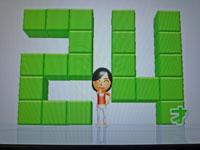 Wii Fit Plus 9月29日のバランス年齢 24歳