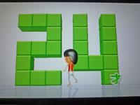 Wii Fit Plus 10月2日のバランス年齢 24歳