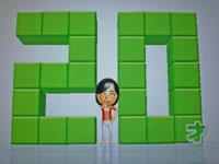 Wii Fit Plus 10月4日のバランス年齢 20歳